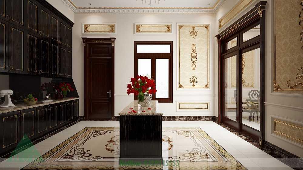 Thiết kế nội thất phòng bếp nhà Anh Đăng