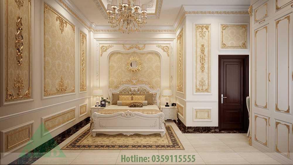 Thiết kế nội thất phòng ngủ khách nhà Anh Đăng