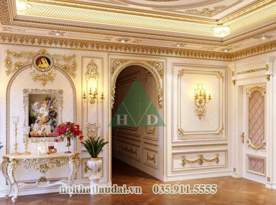 Thiết kế nội thất lâu đài 1