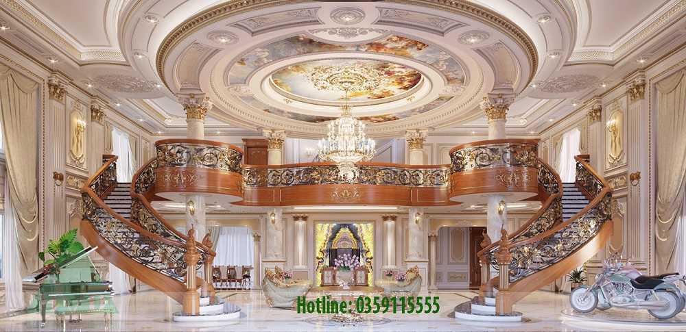 Thiết kế nội thất lâu đài Bình Dương