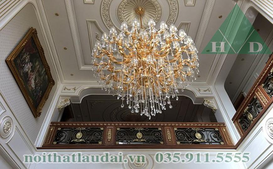 Thiết kế nội thất trần lâu đài 2