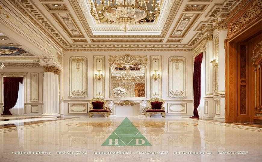 Thiết kế nội thất dinh thự 1