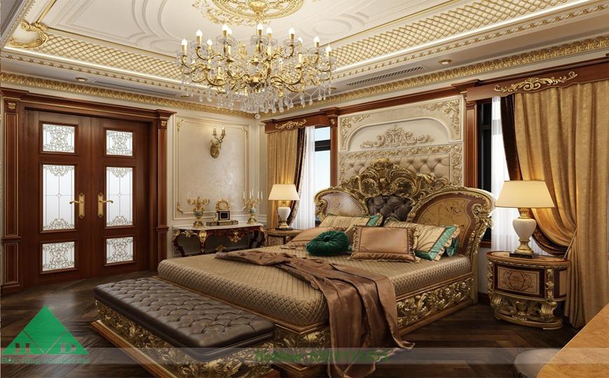 Thiết kế phòng ngủ lâu đài 1