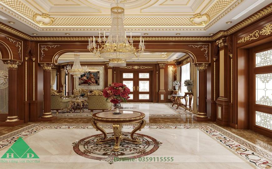 Thiết kế nội thất dinh thự 2