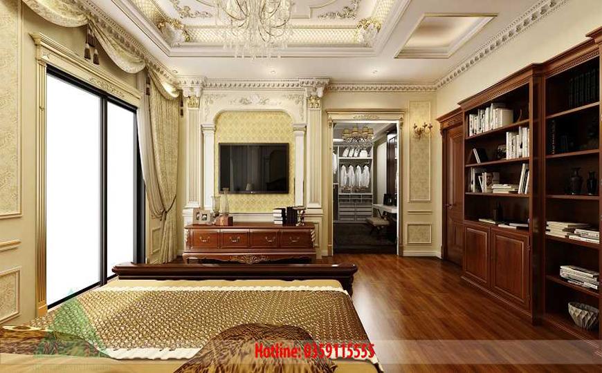 Thiết kế nội thất phòng ngủ Anh Dũng Móng Cái
