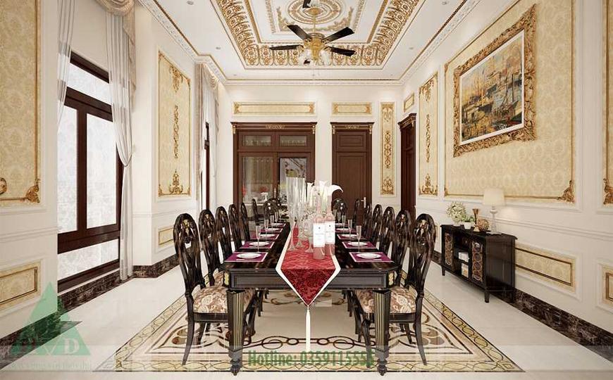 Thiết kế nội thất phòng ăn nhà Anh Đăng