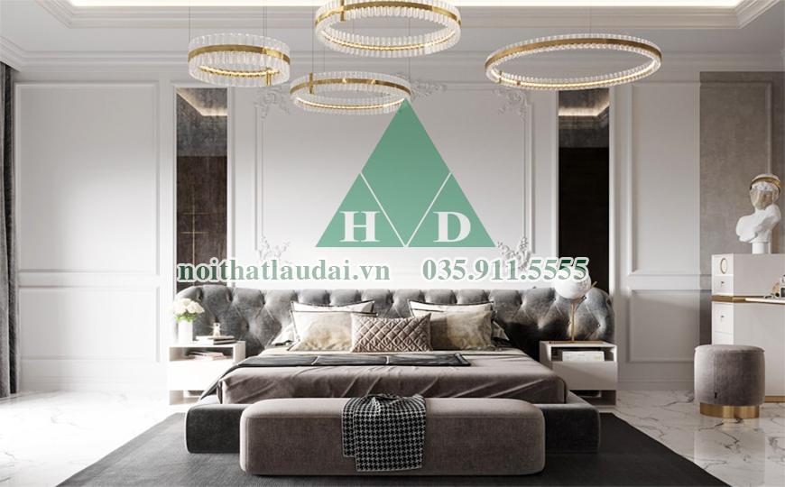 Thiết kế phòng ngủ dinh thự 2
