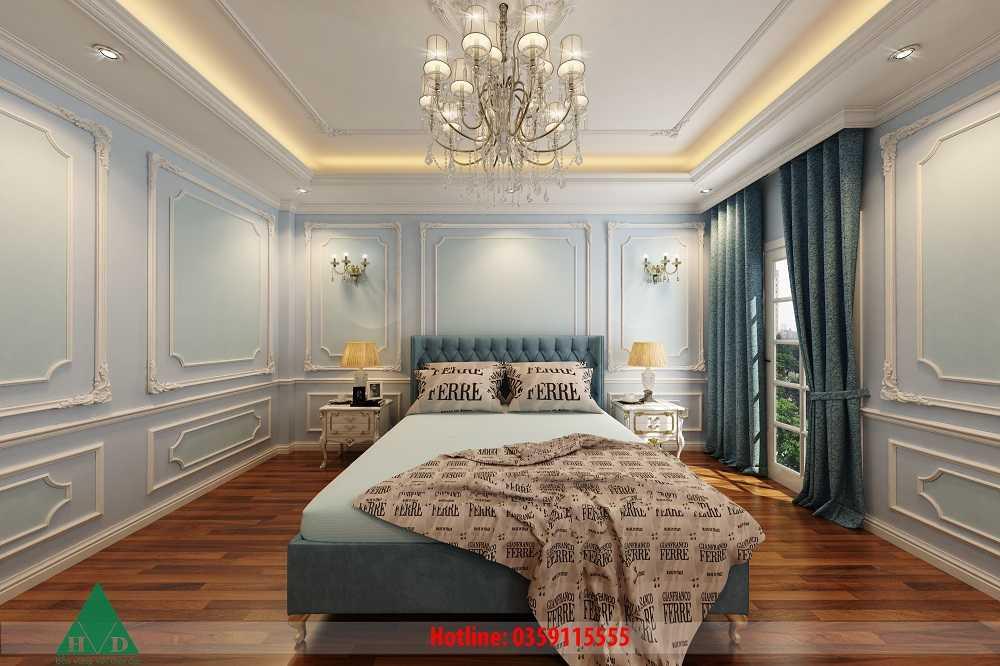 Thiết kế nội thất phòng ngủ con trai tầng 3 Nguyễn Chánh