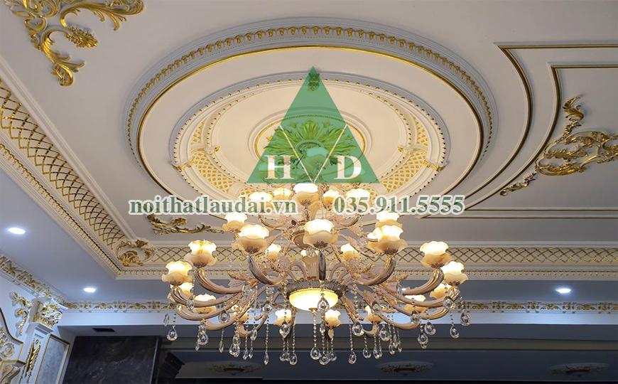 Thiết kế nội thất trần lâu đài 5