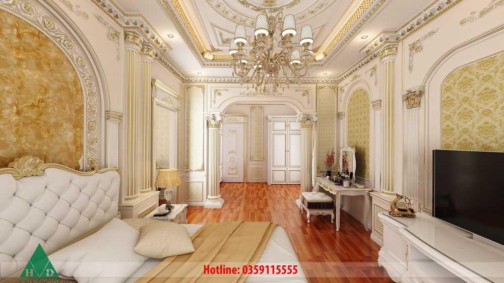 Thiết kế nội thất biệt thự Phú Tân- Bình Dương