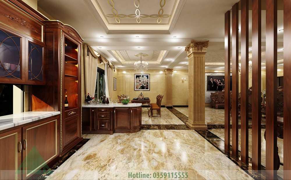 Thiết kế nội thất biệt thự Sài Gòn